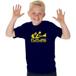 "Kinder-T-Shirt marin, ""FUTURE FEUERWEHRMANN""..."