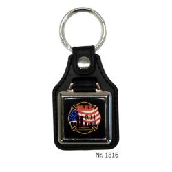 Schlüsselanhänger con Leder/Ring: 9/11
