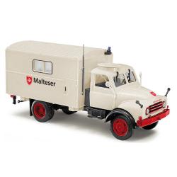 Model car 1:87 Hanomag AL 28 MKW, Malteser