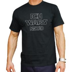 """T-Shirt noir, """"ICH WARS NEDD"""""""