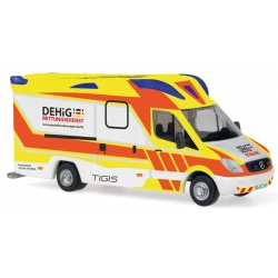 Model car 1:87 MB Sprinter RTW DEHiG Rettungsdienst...