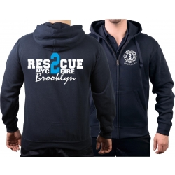 Hooded jacket navy, Rescue2 (blue) Brooklyn