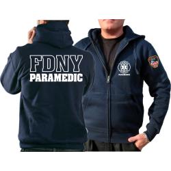 Veste à capuche marin, New York City Fire Dept.,...