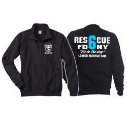 Sweat jacket navy, Rescue6 (blue) Lower Manhattan
