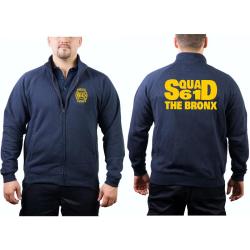 Chaqueta de sudor azul marino, NYFD Squad 61 The Bronx