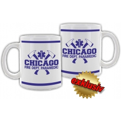 """Tasse: """"Chicago Fire Dept."""" Paramedic with..."""