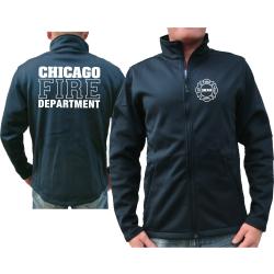 CHICAGO FIRE Dept. SmartSoftshelljacke azul marino, work