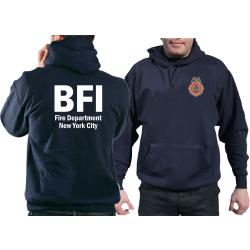 Hoodie navy, BFI (Bureau of Fire Investigation/Fire...