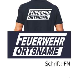 """Polo Schrift """"FN"""" FEUERWEHR + ORTSNAMEN kursiv"""