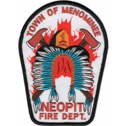 Patch Town of Menominee Neopit Fire Dept., Wisconsin...