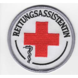 Abzeichen: DRK Rettungsassistentin
