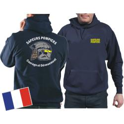 Sweat á capuche (navy/bleu marine) Sapeurs...