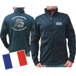 SmartSoftshelljacke (navy/bleu marine) Sapeurs Pompiers...