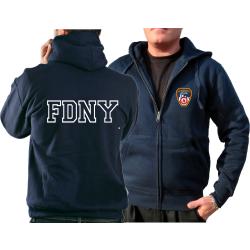 Veste à capuche marin, New York City Fire Dept....