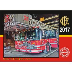 Kalender 2017 Chicago Fire Dept. (2. Jahrgang) - limitiert -