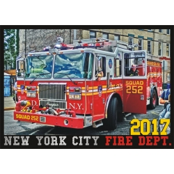 Kalender 2017 New York City Fire Dept. (5. Jahrgang) -...