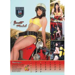 Kalender 2017 Feuerwehr-Frauen - das Original (17. Jahrgang)