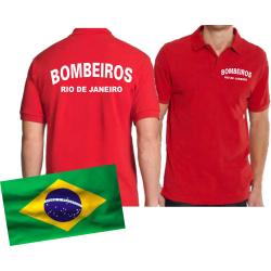 Polo red, BOMBEIROS Rio de Janeiro (Brasil)