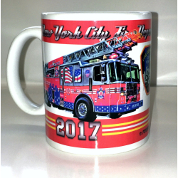 Tasse New York City Fire Department 2017 - limitiert