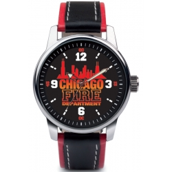 Armbanduhr CHICAGO FIRE DEPT., 40 mm, 3 ATM gem. DIN...