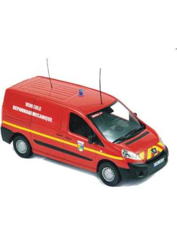 Auto modelo 1:43 Peugeot Expert 2007 VDM (véhicule dépannage mecanique) (FR)