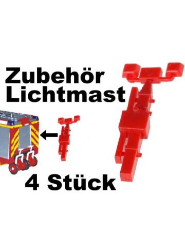 équipement 1:87 Lichtmast (4 Stück)