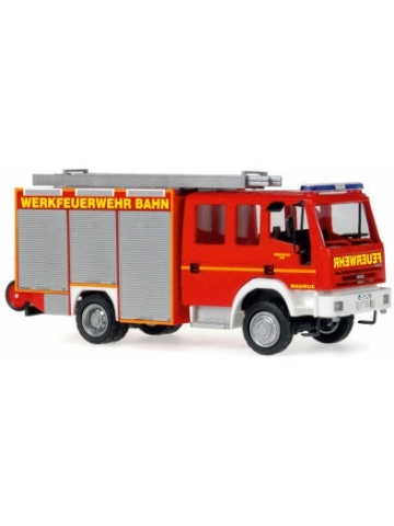 Model car 1:87 Iveco Magirus HLF DB Rbf Nürnberg (BAY)