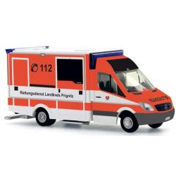 Model car 1:87 MB Sprinter RTW Rettungsdienst Prignitz