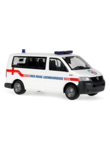 Modello di automobile 1:87 VW T5 LR Croix-Rouge (L)