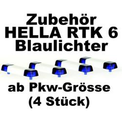 Equipment 1:87 Blaulichtbalken Hella RTK 6 (4 St.)...