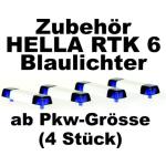 Zubehör 1:87 Blaulichtbalken Hella RTK 6  (4 St.) für PKW
