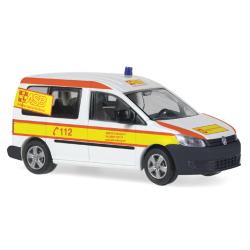 Auto modelo 1:87 VW Caddy ASB RV Coburg (BAY)