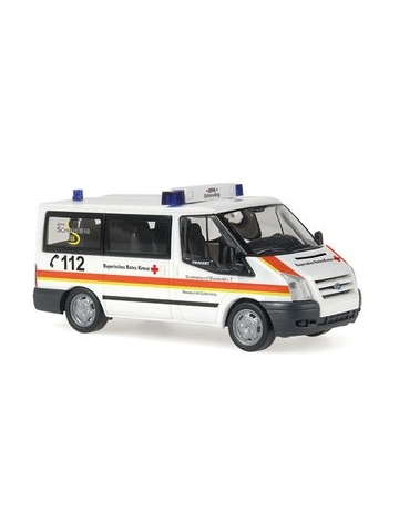 Model car 1:87 Ford Transit Bus, MTW, BRK Schirnding (BAY)