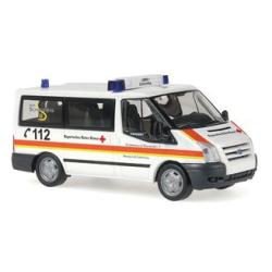 Modello di automobile 1:87 Ford Transit Bus, MTW, BRK...
