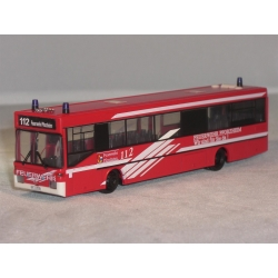 Model car 1:87 MB Bus ELW3 BF Pforzheim (BaWü)...