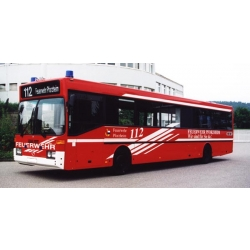Model car 1:87 MB Bus ELW3 BF Pforzheim (BaWü)...