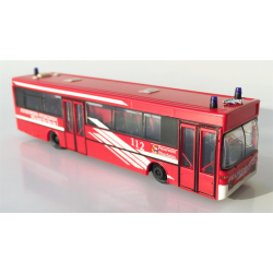 Modello di automobile 1:87 MB Bus ELW3 BF Pforzheim (BaWü) (FEUER1-Exklusivmodell)