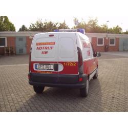 Auto modelo 1:87 Renault Kangoo, KEF, Fl. Speyer 01/72-02, FF Speyer (RLP) (FEUER1-Exklusivmodell)