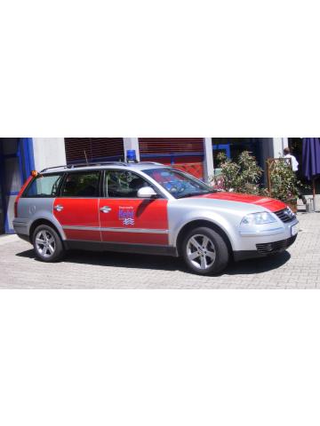 Modèle de voiture 1:87 VW Passat, KdoW, Florian Kehl 01/10-01, FF Kehl (BaWü) FEUER1-Exklusivmodell