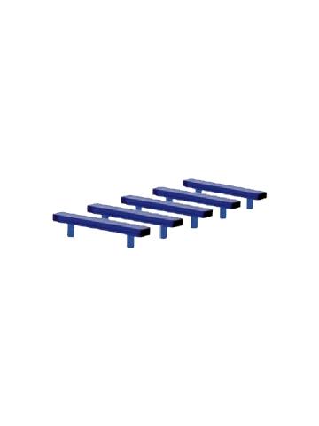Attrezzature 1:87 Blaulichtbalken LED (5 St.) für PKW