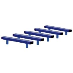 Zubehör 1:87 Blaulichtbalken LED (5 St.) für PKW
